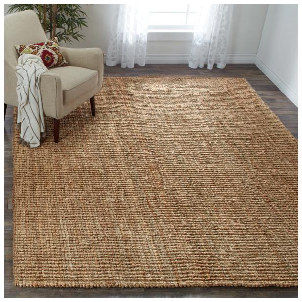 Safavieh Hand woven Natural Carpet Fiber Jute Area Rug Decor