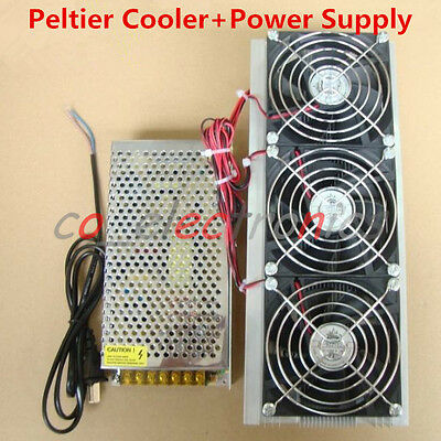 Diy Electronic Semiconductor Refrigerator Radiator Air Cooling Equipment Power