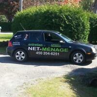 Entretien-net-Menage  vitres,lavage a pression