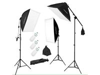 3x135w Photo Studio Softbox Lights Continuous Lighting Kit