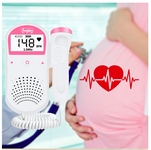 🌟ECO FETAL DOPPLER🌟ANGELSOUND ASCOLTA REGISTRA IL BATTITO CARDIACO IN GRAVIDAN