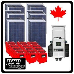 Solar Off-Grid Home or Cabin Kits