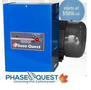 Phase Quest Converters | Rotary 3-Phase Converters | Transformers