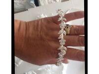 Bridal hair accessories new unworn