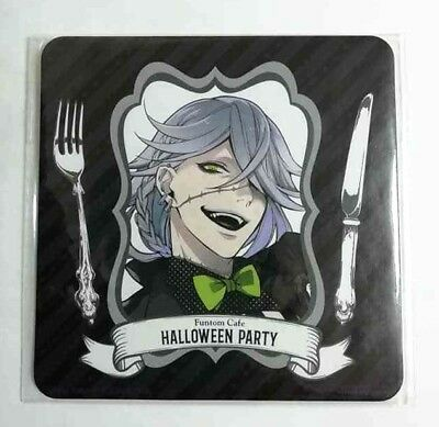 Anime Halloween Black Butler (Black Butler Coaster Undertaker 葬儀屋 Funtom Cafe Halloween Yana Toboso Anime)