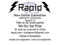 Contestants needed for online kids game show