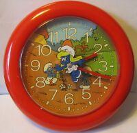 Sveglia O Orologio Parete Puffi , Puffetta, Mickey Mouse - Smurf's Watches -  - ebay.it