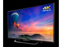 New Ex-Display Sony Bravia KD43X8305C 43 inch SMART 4K Ultra HD LED TV Built in Freeview HD - £420!!