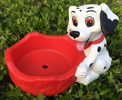 Disney Dalmation Dog or Cat Bowl Holder Feeding Stand Pet Feed Feeding Holder