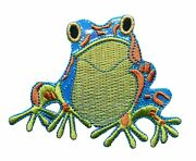 Frog Iron on Patches