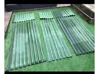 Roof sheets (more available from B&Q)