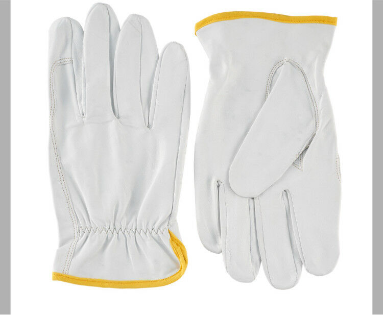 Lightweight leather utility gloves!!! In different sizes!!! XS S M L XL