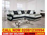 ****Amazing Offer**** NEW CRUSH VELVET FABRIC CORNER SOFAS AND 3 AND 2 SEATER SUITES