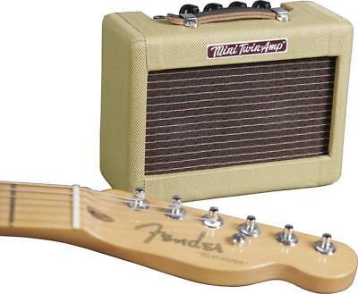 Fender Mini '57 Twin-Amp 1W Practice Amp, Tweed