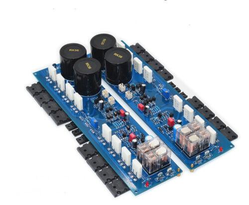 One Pair R408 HiFi Audio Professional Power Amplifier Board 500W + 500W