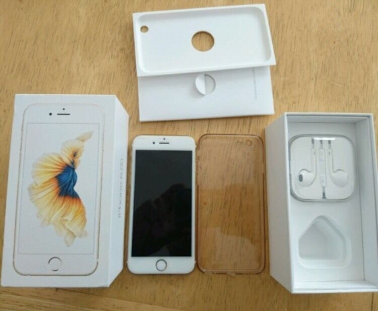 iPhone 6s 64GB Gold excellent condition ON EEin Hucknall, NottinghamshireGumtree - iPhone 6s 64GB Gold ON EE. Phone is in excellent condition always had glass protector and case. 64GB on EE Network. Comes boxed with charger and unused headphones. £380