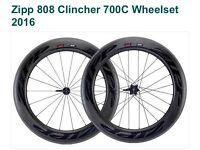 New Zipp clincher 808 wheel set