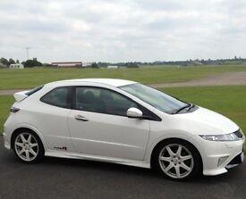 Championship White Honda Civic 2.0 type R