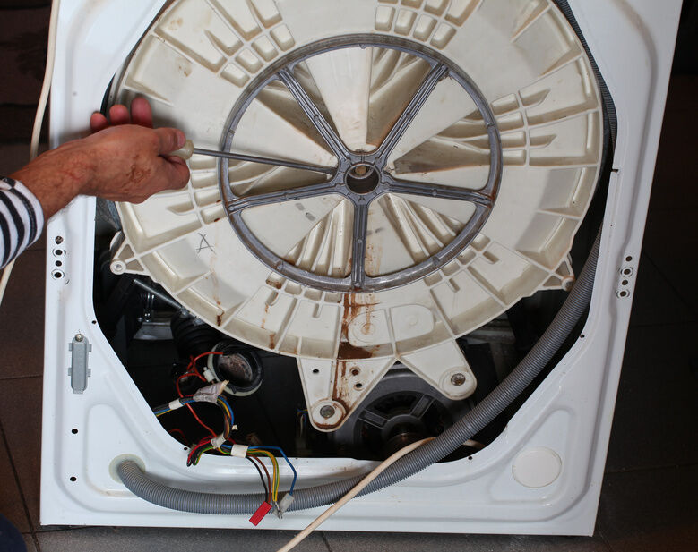 how to fix suds in washing machine