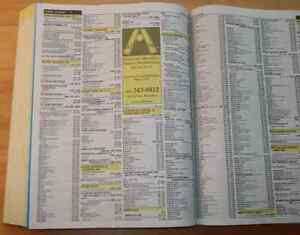 WANTED: Phone books