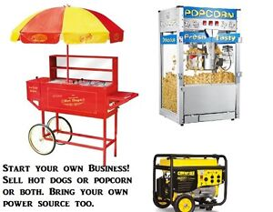 hot dog/sausage cart: Start a  business or use it yourself
