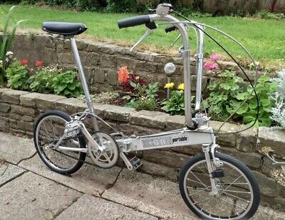 Bickerton Portable Classic Aluminium 3 speed Fold Away / Up Lightweight Bike