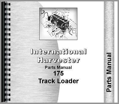 International Harvester 175 Track Loader Parts Manual