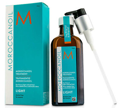 Moroccanoil LIGHT Treatment 6.8oz (200ml) *Original / Pump included