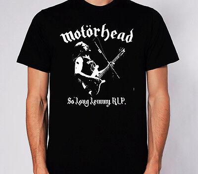 motorhead RIP t shirt med rock punk metal lemmy guitar bass
