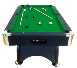 Tavolo da biliardo accessori per carambola panno verde nuovo billiard table ebay - Misure tavolo da biliardo ...