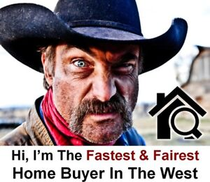 We Are The Fastest Home Buyers In The West