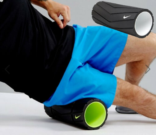 """Nike Textured Recovery Foam 13""""- 33 cm Roller Yoga Deep tissue Muscle Massage"""