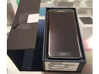 With Receipt As New Samsung S7 Edge Black Sapphire Unlocked
