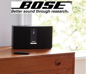 RFB BOSE WIRELESS SPEAKER 738063-110R 244326259 SOUNDTOUCH 20 WIRELESS BLUETOOTH MUSIC SYSTEM REFURBISHED
