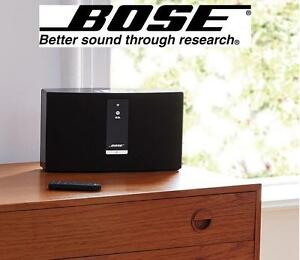 NEW BOSE WIRELESS MUSIC SYSTEM - 117300838 - SoundTouch 20 Series III Black Speaker
