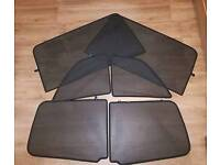 Vauxhall zafira B privacy shades