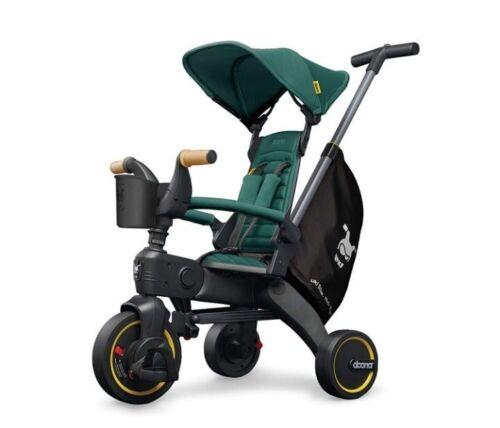 Doona Liki 5 in 1 Folding Trike Stroller Racing Green