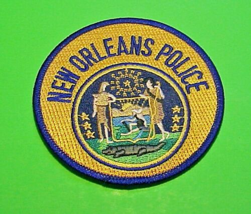 "NEW ORLEANS LOUISIANA  LA   3 1/2""  POLICE PATCH  FREE SHIPPING!!!"