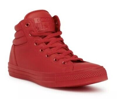 Converse Chuck Taylor Mens 11.5 Fresh Hi Top Varsity Red 153131C Sneaker Leather