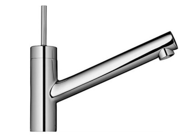 hansgrohe axor starck single handle kitchen faucet polished chrome new