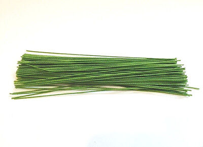 Green floral Stem CLOTH wire 6