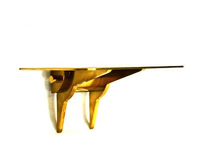 Brass Wall Mount Bracket Shelf for Jaeger-LeCoultre Atmos Clock