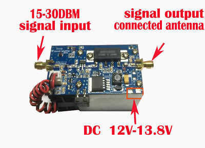 Half Duplex UHF Power Amplifier AMP For MMDVM Hotspot DMR, DPMR, P25, C4FM, SFK for sale  Shipping to Canada