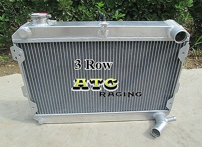 3 Rows for Mazda RX7 RX 7 S1 S2 S3 1979 1985 All Aluminum Radiator 80 81 82 83