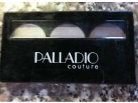 PALLADIO HERBAL BAKED EYE SHADOW TRIO (IN ALMOND OR PINK)- Priced each