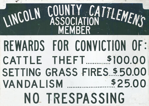 """LINCOLN COUNTY CATTLEMEN"
