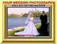 WEDDING Photography+DECORATIONS $699.- on SALE at 613 729 1583