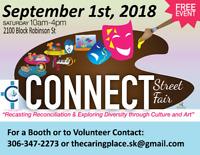 The CONNECT Street Fair - Entertainment Positions