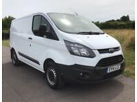 FORD TRANSIT CUSTOM 290 LR P-V AIR CON TAIL GATE White Manual Diesel, 2014