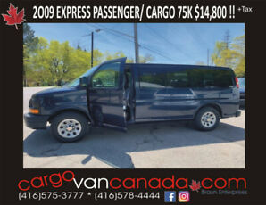 2009 EXPRESS FORD PASSENGER/CARGO fr $14,900 (&other AWD's)